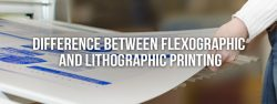 difference between flexographic and lithographic printing
