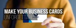 make your business cards