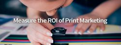 measure ROI of Print Marketing