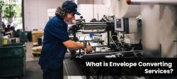 Envelope converting services