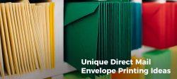 Direct Mail Envelope Printing